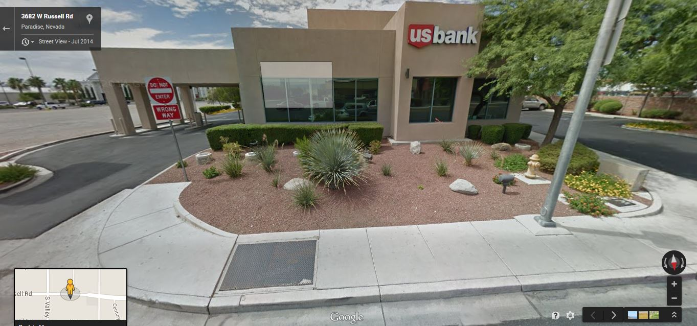 5.25% CAP Single Tenant A+ Rated NNN Bank | Las Vegas Nevada 98118