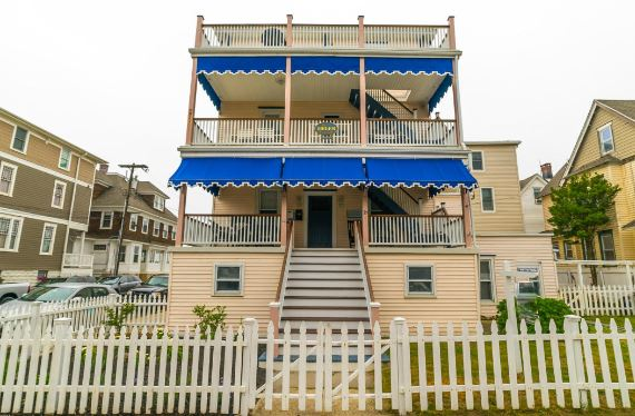 7bed/7ba Jersey Shore 4-story with Rental Apt. | Ocean Grove New Jersey 07756