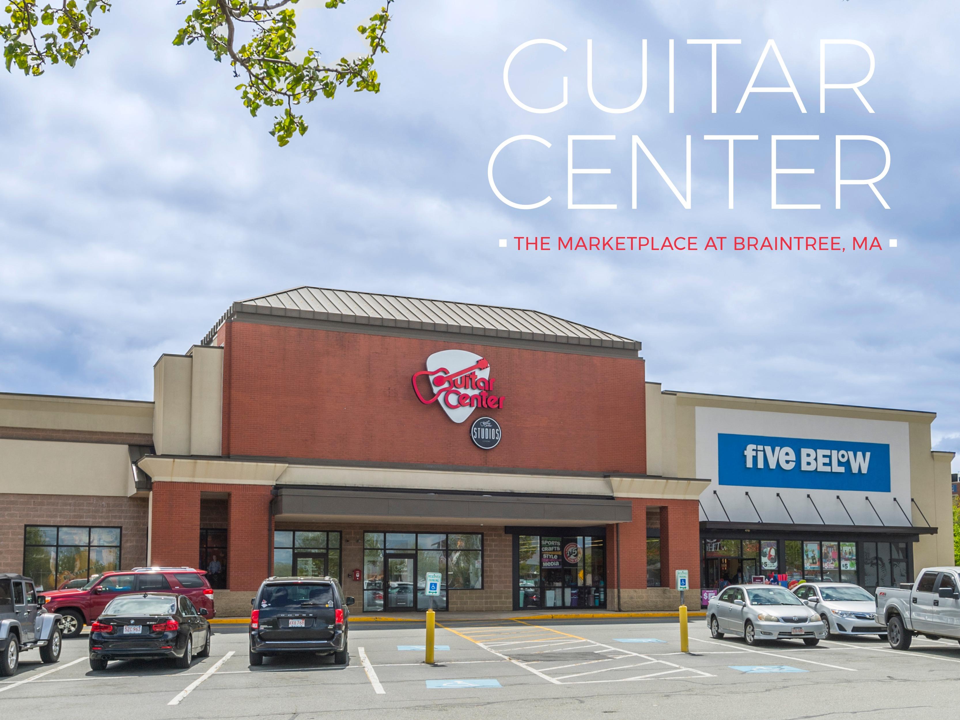 guitar center braintree massachusetts 02184