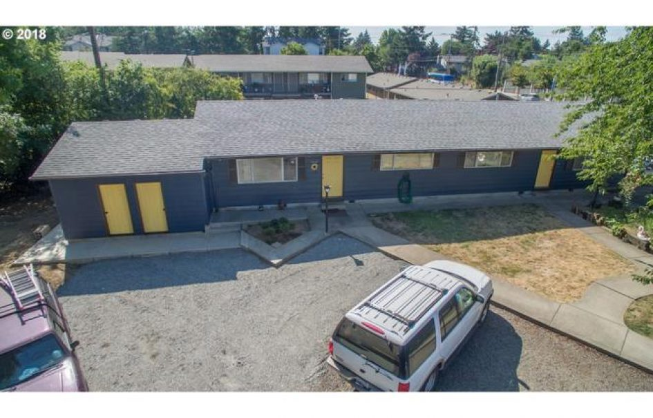 4 Plex and Buildable Level Lot Portland OR