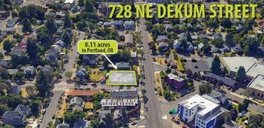 5,000 SF of Land in N. Portland