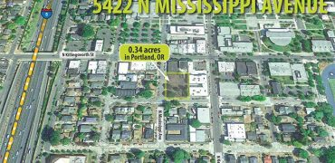 0.34 Acres – 5422 N Mississippi Avenue