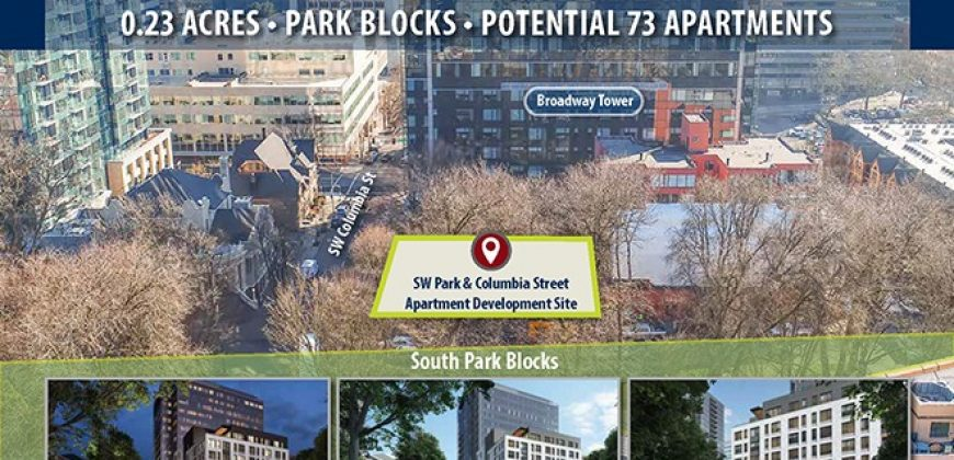 0.23-Acre Trophy Land Parcel | Multifamily Development | Downtown Portland | Fees Prepaid