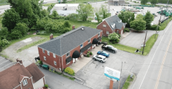 Mixed used building for lease or sale