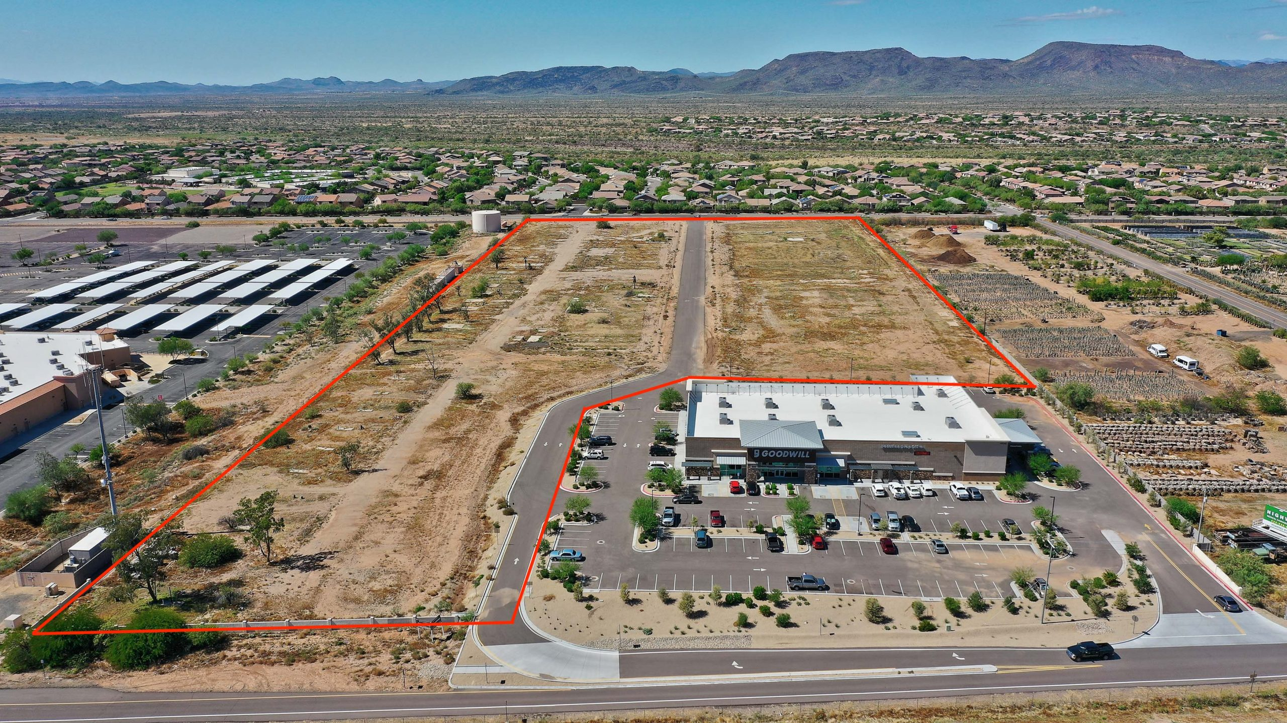16 Acres In The City Of Phoenix, AZ | Commercial / Multi-Family Zoning | Freeway Frontage
