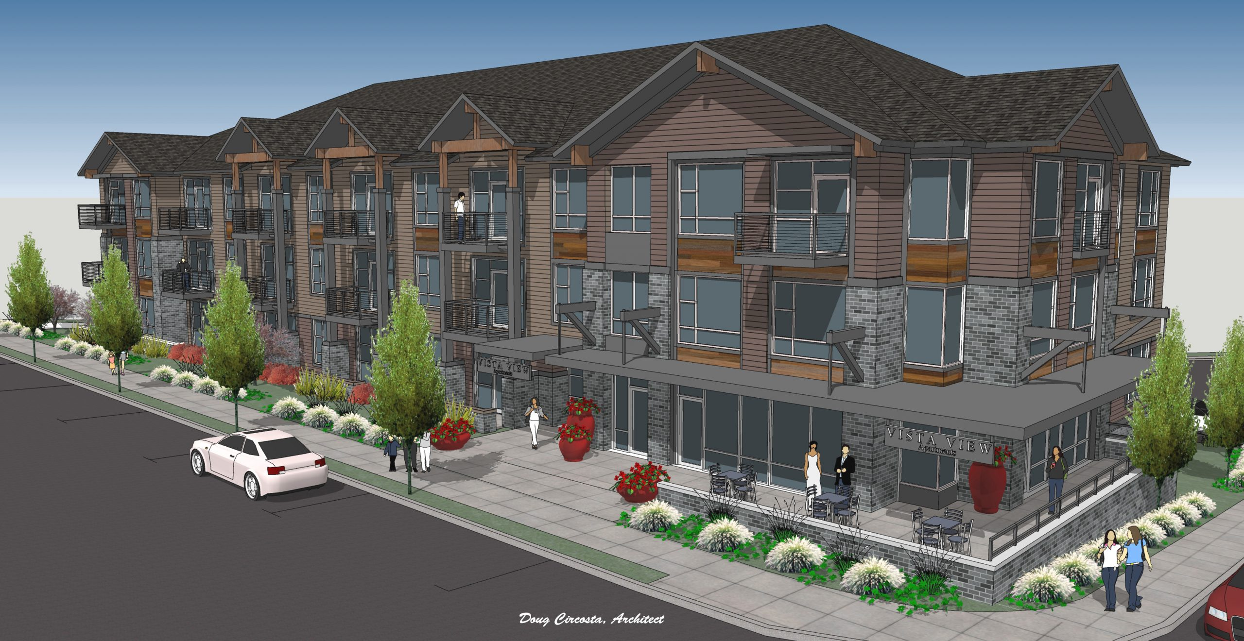 Will sell or JV two approved apartment projects (one in OZ) with building permits. www.firstwestrealty.net