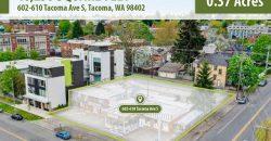 0.37 Acres of Downtown Residential Land in Tacoma, Washington | $1.8 Million