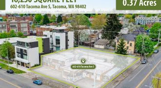0.37 Acres of Downtown Residential Land in Tacoma, Washington | $1.8 Million