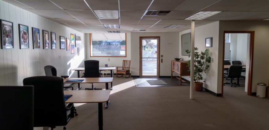 Office or retail space; art or photo studio