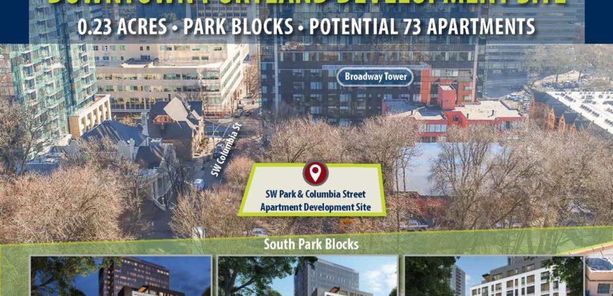 72-Unit Apartment Parcel   Portland, Ore. Opportunity Zone   $4 million