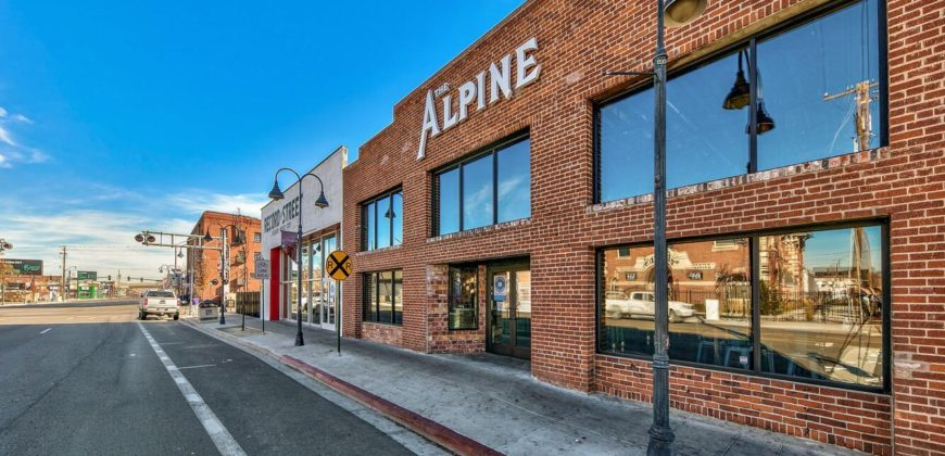 Completely Renovated Historic Brewery, Restaurant & Music Venue in Reno, NV